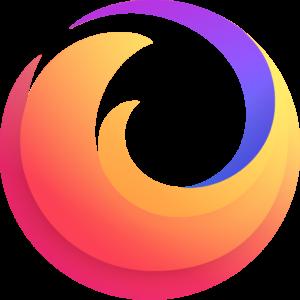 logo gradient firefox