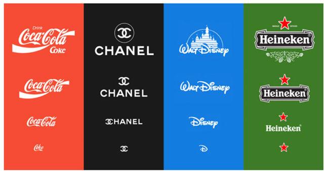 déclinaisons logos marques