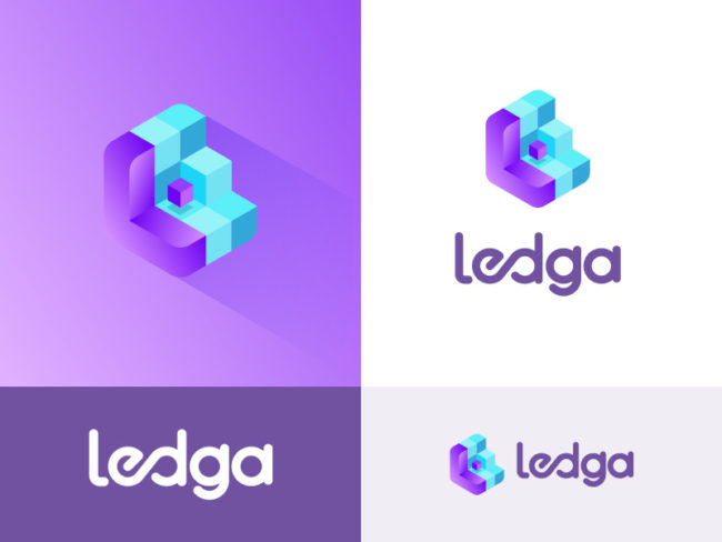 logo 3D ledga