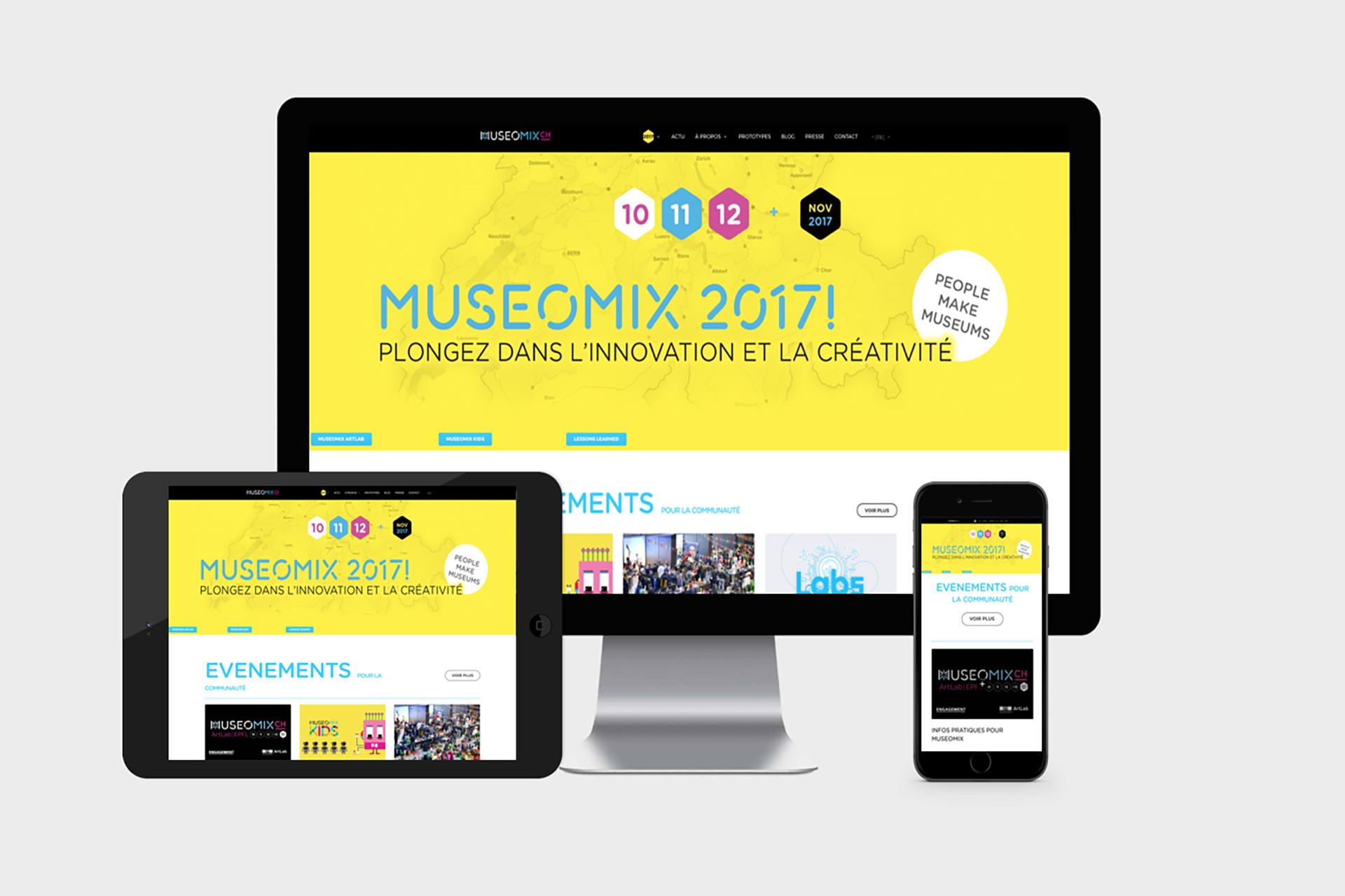 stratégie de communication Museomix