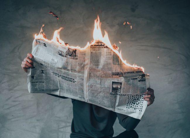 médias en crise